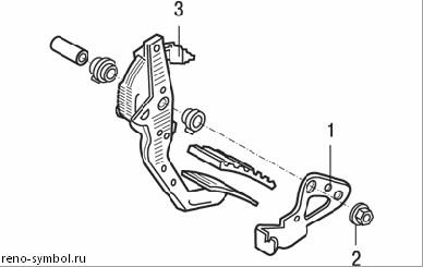 рено симбол сцепление