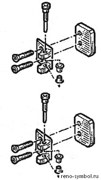 Снятие обшивки двери рено симбол