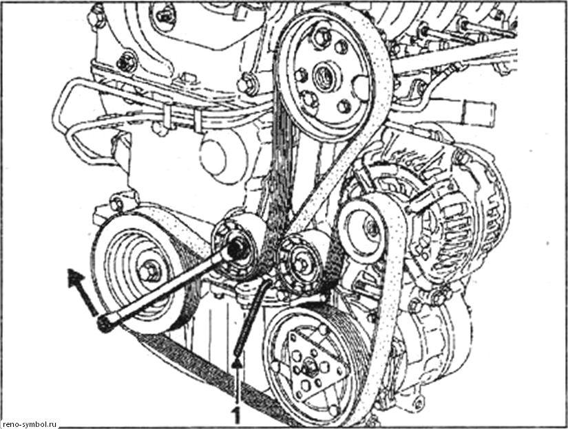 снятиемремонтом двигателя